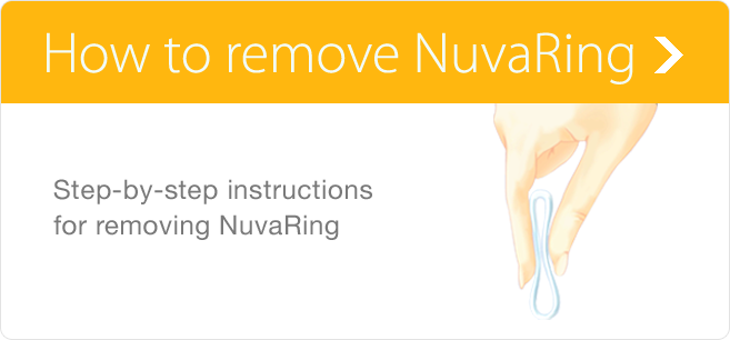 Removing NuvaRing® (etonogestrel/ethinyl estradiol vaginal ring)