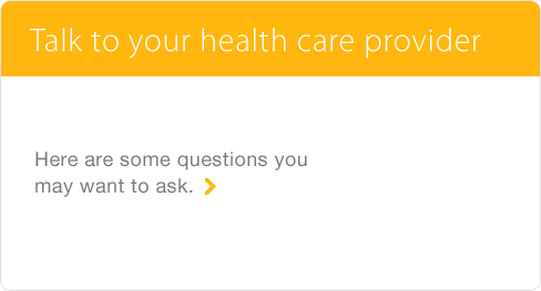 Talk to Your Health Care Provider About NuvaRing® (etonogestrel/ethinyl estradiol vaginal ring)